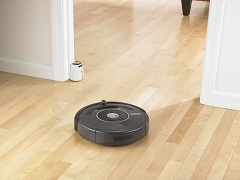 Robot vacuum cleaner - Virtual wall