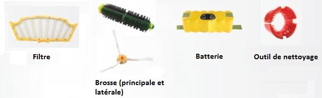 Choisir son aspirateur robot - Accessoires