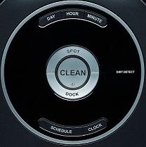 Roomba 581 - Interface de contrôle