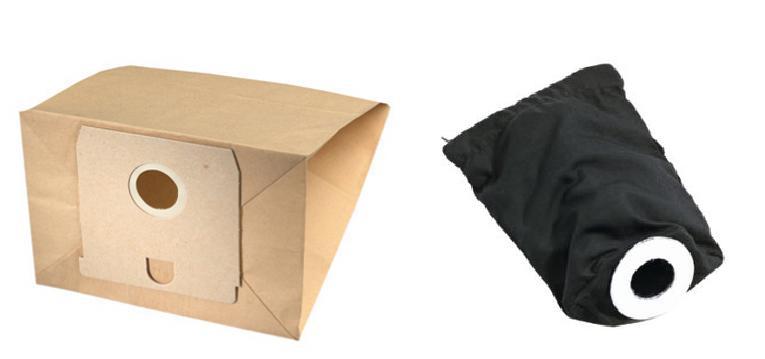 sacs aspirateur papier tissu