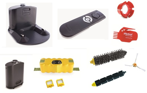 Aspirateur robot iRobot - Roomba 760 - Accessoires