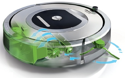 irobot roomba 770 meilleur aspirateur. Black Bedroom Furniture Sets. Home Design Ideas