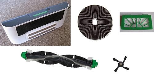 Aspirateur robot Vorwerk - Kobold VR100 - Accessoires