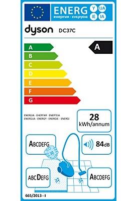 Aspirateur Dyson - DC37C Parquet - Etiquette Energetique