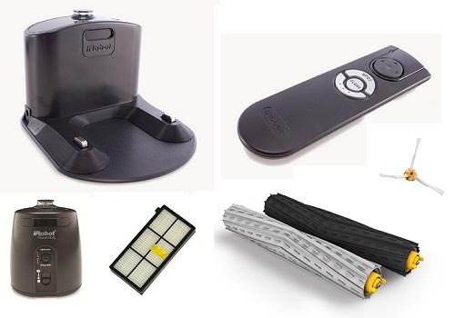 Aspirateur robot iRobot - Roomba 871 - Accessoires
