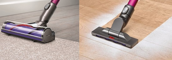 Aspirateur balai - Dyson V6 Absolute - Brosses