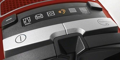 Aspirateur Miele - Complete C3 Electro Ecoline - Commandes
