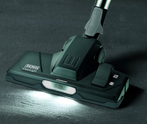 Aspirateur Thomas - Crooser Parquet Plus - Brosse CleanLight