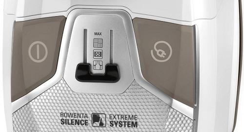 Aspirateur Rowenta - Silence Force Compact 4A RO6327EA - Variateur de puissance