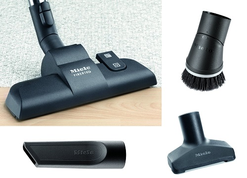 Aspirateur Miele - Compact C1 Black Pearl EcoLine - Accessoires