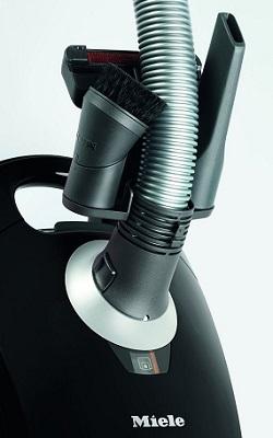 Aspirateur Miele - Compact C1 Black Pearl EcoLine - Porte accessoires