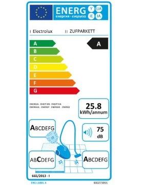 Aspirateur Electrolux - UltraFlex ZUFPARKETT - Etiquette Energétique