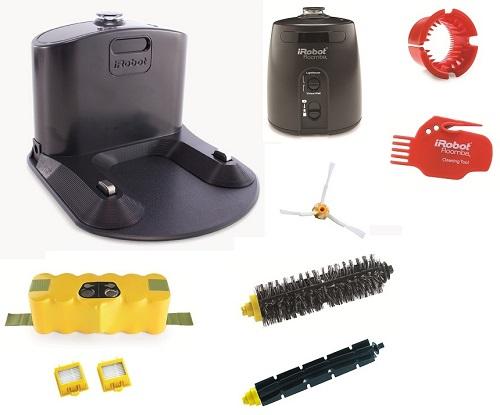 Aspirateur robot iRobot - Roomba 782e - Accessoires