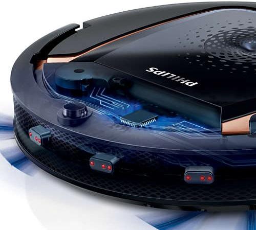 Aspirateur robot Philips - SmartPro Active FC8820 - Capteurs
