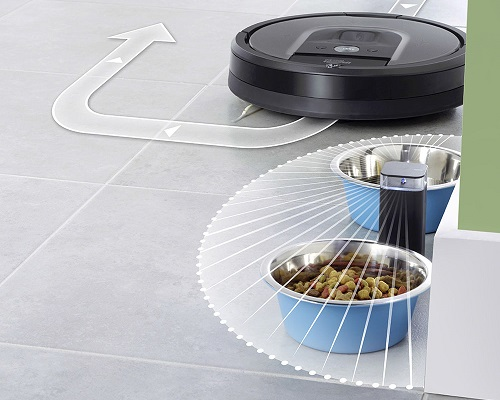 Aspirateur robot iRobot - Roomba 960 - Mur virtuel