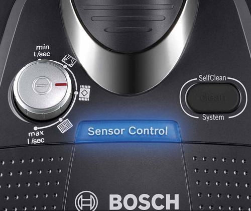 Aspirateur Bosch - BGS5SIL66B - Variateur de puissance