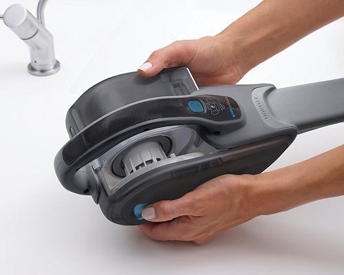 Aspirateur à main - Black&Decker - Dustbuster SmartTech DVJ325BF - Réservoir