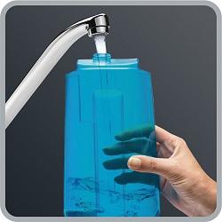 Aspirateur balai - Rowenta Clean & Steam RY7557WH - Réservoir eau
