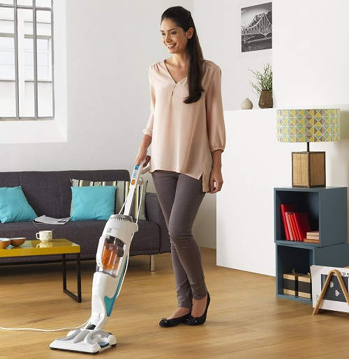 Aspirateur balai - Rowenta Clean & Steam RY7557WH