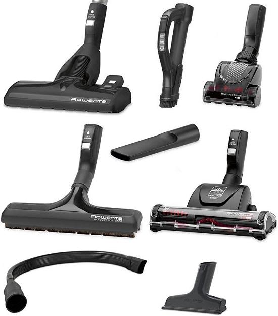 Aspirateur Rowenta - Silence Force Compact 4A RO6391EA - Accessoires