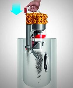 Aspirateur Dyson - Cinetic Big Ball MultiFloor 2 - Vidange bac