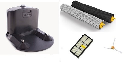 Aspirateur robot iRobot - Roomba 865 - Accessoires
