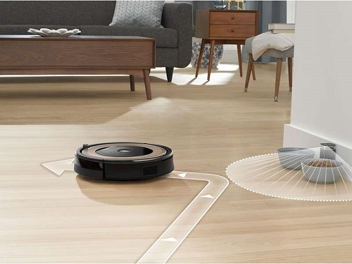 Aspirateur robot iRobot - Roomba 895 - Mur virtuel