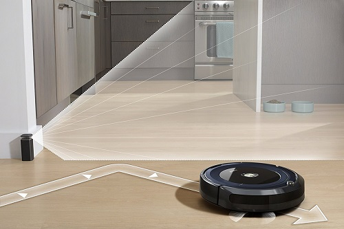 Aspirateur robot iRobot - Roomba 691 - Mur virtuel