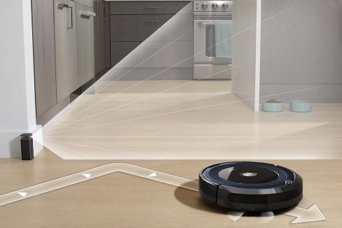 Aspirateur robot iRobot - Roomba 691 - Mur virtuel