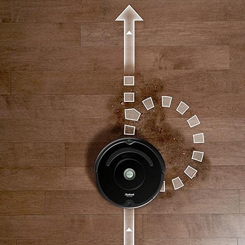 Aspirateur robot iRobot - Roomba 691 - Fonction Dirt Detect
