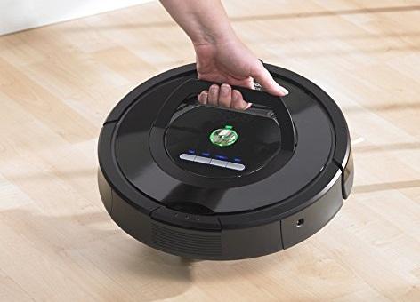 Aspirateur robot iRobot - Roomba 691 - Poignée de transport