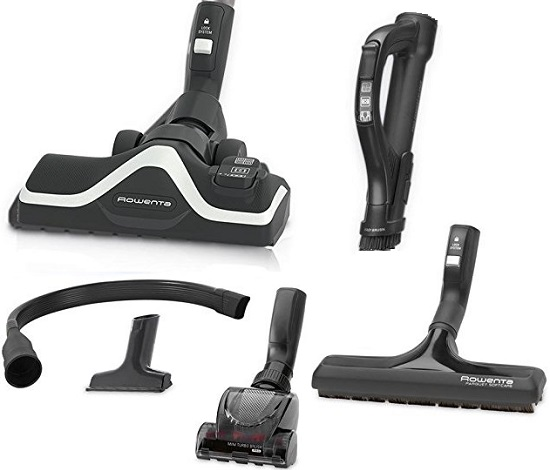 Aspirateur Rowenta - Silence Force Compact 4A+ RO6371EA - Accessoires