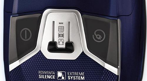 Aspirateur Rowenta - Silence Force Compact 4A+ RO6371EA - Variateur de puissance