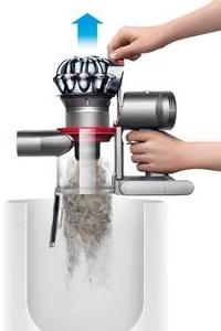 Aspirateur a main - Dyson - V7 Trigger - Bac à poussières