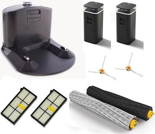 Aspirateur robot iRobot - Roomba 981 - Accessoires