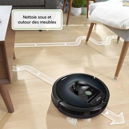irobot roomba 981 meilleur aspirateur. Black Bedroom Furniture Sets. Home Design Ideas