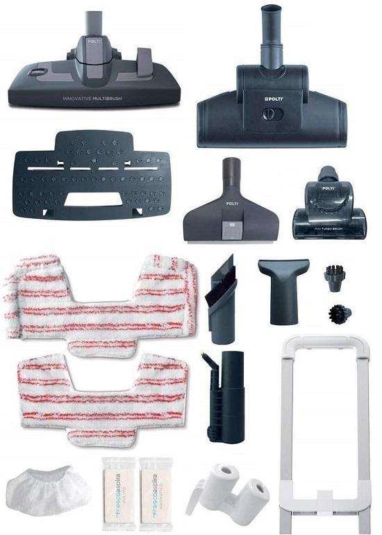 Aspirateur Polti - Unico MCV80 Total Clean & Turbo - Accessoires
