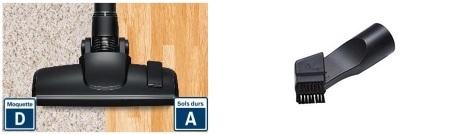 Aspirateur Bosch - GS05 Cleann'n - Accessoires
