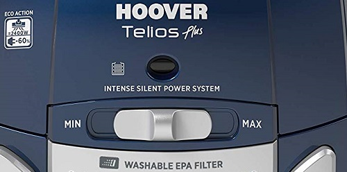 Aspirateur Hoover - Telios Plus TE80PET - Variateur de puissance