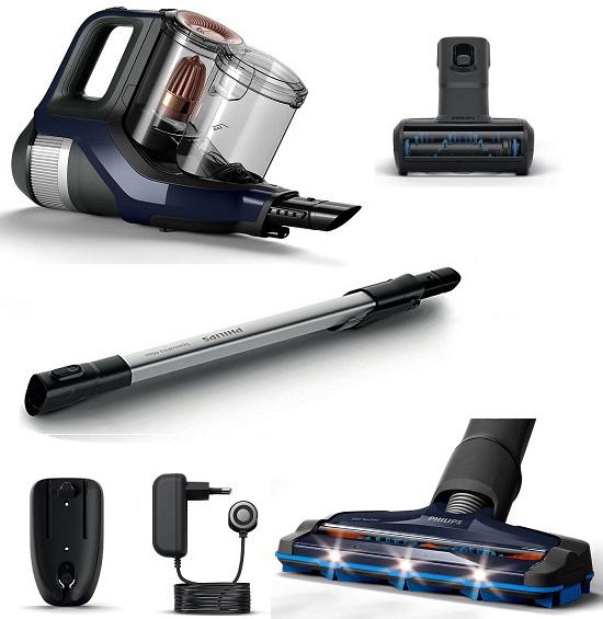 Aspirateur balai - Philips Speed Pro Max FC6813 - Accessoires