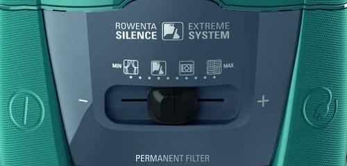 Aspirateur Rowenta - Silence Force Allergy+ Blue RO7769EA - Variateur de puissance