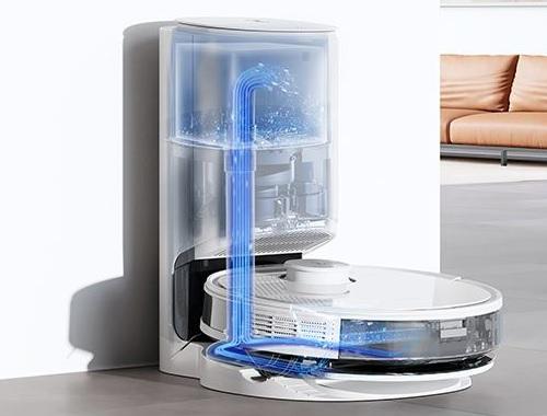 Aspirateur Robot - Ecovacs - DEEBOT N8 Pro+ - Vidange réservoir